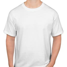 Hanes ComfortSoft® Tagless T-shirt - Color: White