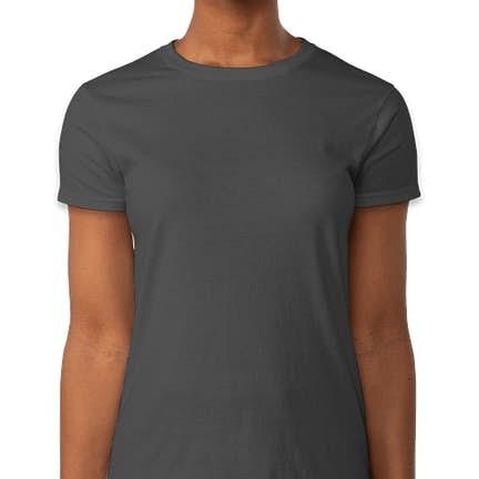 ... Gildan Ultra Cotton Women s T-shirt - Color  Charcoal ... 52fc4f2f2c