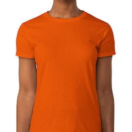 Gildan Ultra Cotton Women's T-shirt - Color: Orange