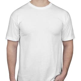 American Apparel USA-Made 50/50 T-shirt - Color: White