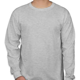 Jerzees 50/50 Long Sleeve T-shirt - Color: Ash