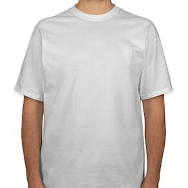 Port & Company 100% Cotton Tall T-shirt - Color: White