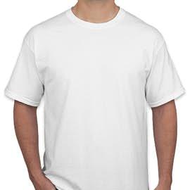 Canada - Gildan 100% Cotton T-shirt - Color: White