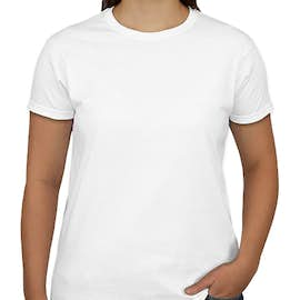 Canada - Gildan Ultra Cotton Women's T-shirt - Color: White