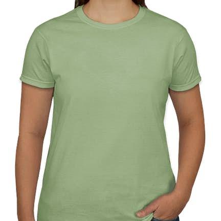 a46e65e6705 ... Gildan Ultra Cotton Women s T-shirt - Color  Pistachio ...