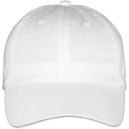 576e8fd6b80 Valucap Bio-Washed Hat Valucap Bio-Washed Hat - Color  White ...
