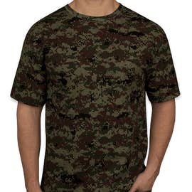 Code 5 Digital Camo T-shirt - Color: Green Digital