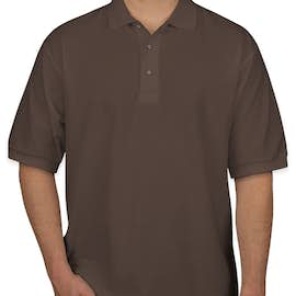 Port Authority Silk Touch Polo - Color: Bark