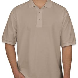 Port Authority Silk Touch Polo - Color: Stone