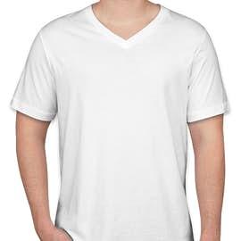 Bella + Canvas Jersey V-Neck T-shirt - Color: White