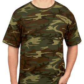 Code 5 Camo T-shirt - Color: Green Woodland