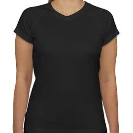 Champion Women's V-Neck Performance Shirt - Color: Black