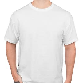 Hanes 50/50 T-shirt - Color: White