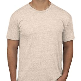 American Apparel USA-Made Tri-Blend T-shirt - Color: Tri-Oatmeal
