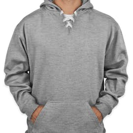 J. America Hockey Pullover Hoodie - Color: Oxford