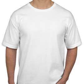 Bayside 100% Cotton USA T-shirt - Color: White