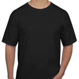 Bayside 100% Cotton USA T-shirt - Color: Black