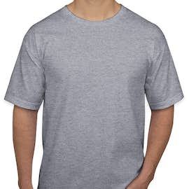 Bayside 100% Cotton USA T-shirt - Color: Dark Ash