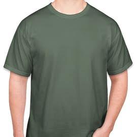 Comfort Colors 100% Cotton T-shirt - Color: Blue Spruce
