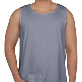 Comfort Colors 100% Cotton Tank - Color: Blue Jean