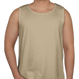 Comfort Colors 100% Cotton Tank - Color: Sandstone
