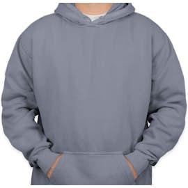 Comfort Colors Hooded Sweatshirt - Color: Blue Jean