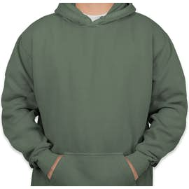 Comfort Colors Hooded Sweatshirt - Color: Blue Spruce