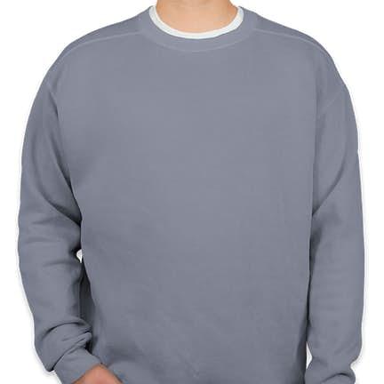 7fe6ed7e90868 Comfort Colors Crewneck Sweatshirt Comfort Colors Crewneck Sweatshirt -  Color  Blue Jean ...
