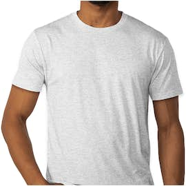 Next Level Tri-Blend T-shirt - Color: Heather White