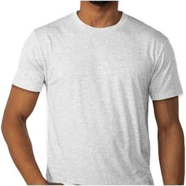 Next Level Tri-Blend T-shirt - Color: Heather White