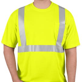 CornerStone Class 2 Performance Safety Pocket Shirt - Color: Safety Yellow