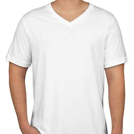 Canada - Bella + Canvas Jersey V-Neck T-shirt - Color: White