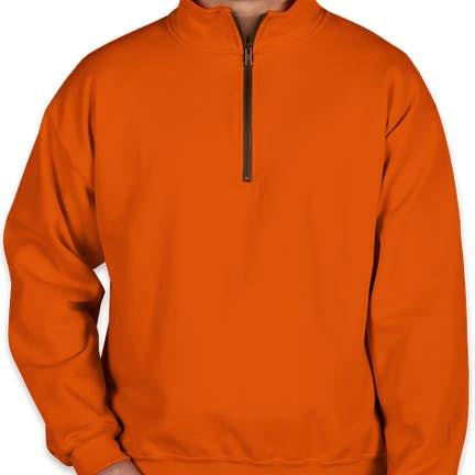 3d44ae9e Custom Quarter Zip Pullover Sweatshirts - Design Your Own at ...