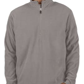 Port Authority Quarter Zip Microfleece Pullover - Color: Pearl Grey