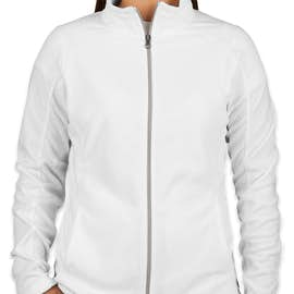 Port Authority Women's Full Zip Microfleece Jacket - Color: White