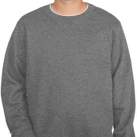 Sport-Tek Premium Crewneck Sweatshirt - Color: Vintage Heather