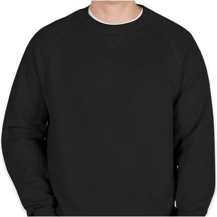 9250307fca88d Hanes Nano Crewneck Sweatshirt Hanes Nano Crewneck Sweatshirt - Color   Black ...
