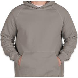 Hanes Nano Pullover Hoodie - Color: Vintage Gray