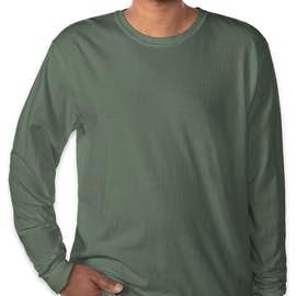 Comfort Colors 100% Cotton Long Sleeve Shirt - Color: Blue Spruce