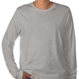 Bella + Canvas Tri-Blend Long Sleeve T-shirt - Color: Athletic Grey Tri-Blend