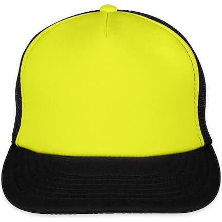53d9b0dedbb ... District Neon Flat Bill Snapback Hat - Color  Neon Yellow ...