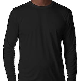 Sport-Tek Competitor Long Sleeve Performance Shirt - Color: Black
