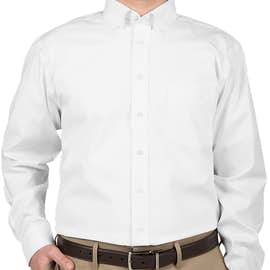 Devon & Jones Solid Dress Shirt - Color: White
