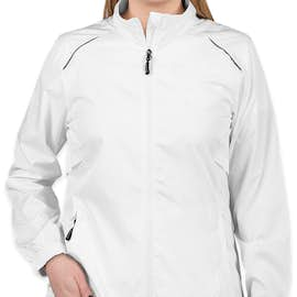 Core 365 Women's Lightweight Full Zip Jacket - Color: White