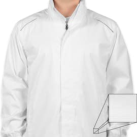 Core 365 Waterproof Ripstop Jacket - Color: White