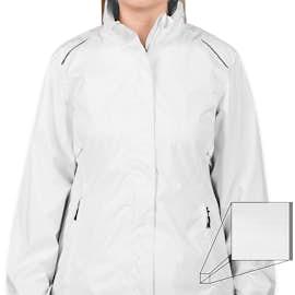 Core 365 Women's Waterproof Ripstop Jacket - Color: White