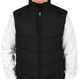 Port Authority Puffy Vest - Color: Black / Black