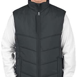 Port Authority Puffy Vest - Color: Dark Slate / Black