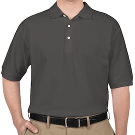 Devon & Jones Pima Pique Polo - Color: Graphite