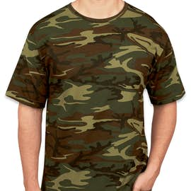 Canada - Code 5 Camo T-shirt - Color: Green Woodland